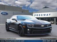 Black 2015 Chevrolet Camaro ZL1 RWD 6-Speed Manual 6.2L