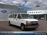 Summit White 2015 Chevrolet Express 3500 LT Passenger