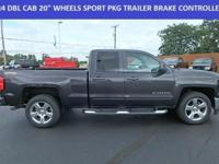 LT**4WD**EXTENDED CAB**1-OWNER**CLEAN CARFAX**5.3L V8