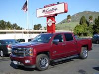 Options:  2015 Chevrolet Silverado 1500 4Wd High