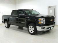 Black 2015 Chevrolet Silverado 1500 LT 4WD 6-Speed