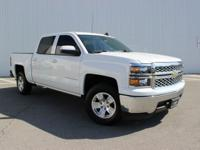 Summit White 2015 Chevrolet Silverado 1500 LT LT1 RWD