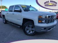 One owner, new Chevrolet trade-in.  This 2015 Silverado