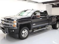 2015 Chevrolet Silverado 3500 with 6.6L Turbocharged