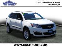 Traverse LS CARFAX One-Owner. Clean CARFAX. Backup