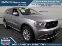 Climb inside the 2015 Dodge Durango! Feature-packed and