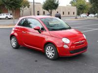 Original MSRP 17K!! 2015 FIAT 500 POP HATCHBACK Hard