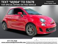 Used 2015 Fiat 500 Abarth** Cerfified By Carfax - NO