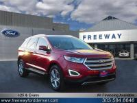Ruby Red Metallic Tinted Clearcoat 2015 Ford Edge