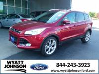 CARFAX One-Owner. Clean CARFAX. Red 2015 Ford Escape