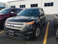 This outstanding example of a 2015 Ford Explorer XLT is