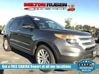 This 2015 Ford Explorer 4dr FWD 4dr XLT features a 3.5L