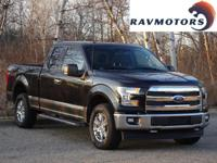 This is the 2015 Ford F-150 XLT 4x4. It comes equipped