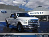 White Platinum Metallic Tri-Coat 2015 Ford F-150 King