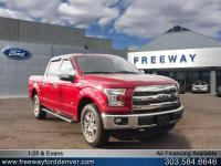 Ruby Red Metallic Tinted Clearcoat 2015 Ford F-150