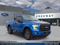 Blue Flame Metallic 2015 Ford F-150 XL 4WD 6-Speed