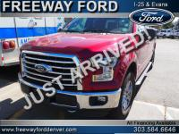 Ruby Red Metallic Tinted Clearcoat 2015 Ford F-150 XLT