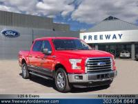 Race Red 2015 Ford F-150 XLT 4WD 6-Speed Automatic