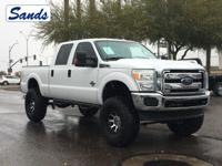 Oxford White 2015 Ford F-250SD XLT 4WD TorqShift