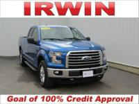 4WD! FORD CERTIFIED! LOW MILES! CLEAN VEHICLE HISTORY