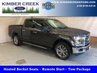 This 2015 F150 XLT comes equipped with the 5.0L V8