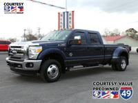 From work to weekends, this Blue 2015 Ford Super Duty