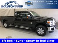 This 2015 F350 XLT long box comes equipped with the