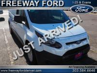 Frozen White 2015 Ford Transit Connect XL FWD 6-Speed