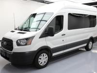 2015 Ford Transit with Custom Limousine/Party Bus