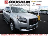 ONE OWNER, CLEAN CARFAX, Acadia SLE-1, AWD, Quicksilver