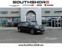 CARFAX One-Owner. 2015 GMC Acadia Denali Carbon Black