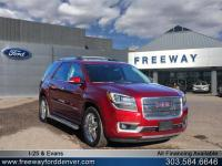 Crimson Red 2015 GMC Acadia Denali AWD 6-Speed