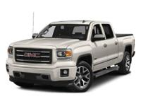 CARFAX One-Owner. Fire Red 2015 GMC Sierra 1500 SLT RWD