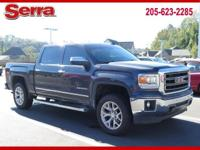 Gray 2015 GMC Sierra 1500 SLT 4WD 6-Speed Automatic