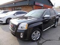 This 2015 GMC Terrain Denali is a beauty! Black on