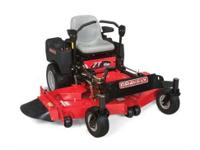 Maintain acres of property with a powerful efficient ZT