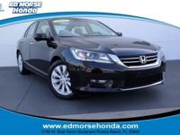 This 2015 Honda Accord Sedan EX-L is proudly offered by