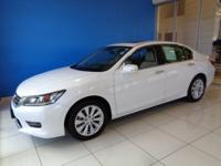 White Orchid Pearl 2015 Honda Accord Local One Owner