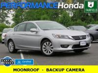 HONDA CERTIFIED! 1-OWNER CARFAX VERIFIED! *HIGHLIGHTS:*