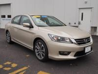Carfax 1 Owner!  Accident Free! 2015 Honda  Accord