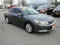 This 2015 Honda Accord Sedan Touring is proudly offered