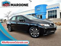 Gray w/Cloth Seat Trim. 2015 Honda Civic EX 1.8L I4