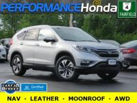 HONDA CERTIFIED! 1-OWNER CARFAX VERIFIED! *FEATURES:*