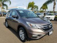 CARFAX One-Owner. Urban Titanium Metallic 2015 Honda