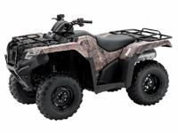 Make: Honda Year: 2015 Condition: New The ATV that