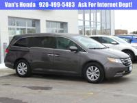 HONDA CERTIFIED - CLEAN AUTO CHECK - ONE OWNER - HEATED
