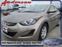 Get the right car at the right price. The Elantra is