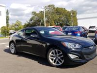 This 2015 Hyundai Genesis Coupe 3.8 in Black features: