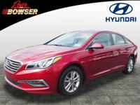 For a smoother ride, opt for this 2015 Hyundai Sonata