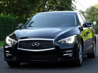 THIS FULLY LOADED AND LUXURIOUS 2015 INFINITI Q50 WITH